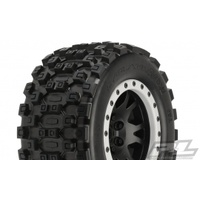 Proline Badlands Mx43 Pro-Loc All Terrain Tires for Traxxas Xmaxx 10131-13