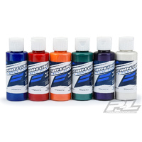 PRO-LINE RC BODY PAINT ALL PEARL SET (6 PACK) - PEARL BLUE, PEARL RED, PEARL ORANGE, PEARL GREEN, PEARL PURPLE, PEARL WHITE - PR6323-06