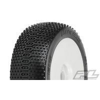 Proline electroshot X2 MED Mounted 1/8 Buggy Tires 9059-032